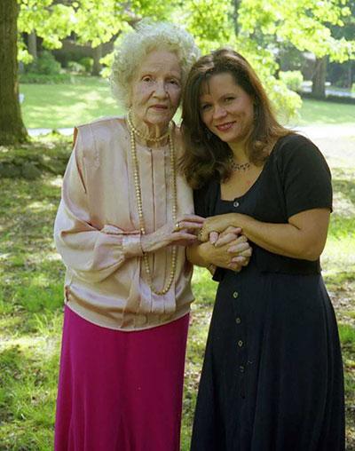 Carol y su mamá.